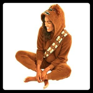 NWT Star Wars Chewbacca Sleepwear Costume